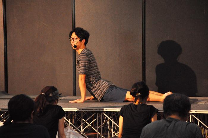 DSC 3895 - [ヨガフェスレポート]Mandukaアンバサダーippeiさんによる「心と身体をつなぐインテグレードヨガ」