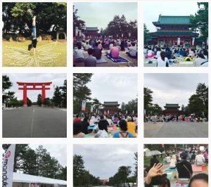 ae46b1f460ee46f789c27b264a6cb421 300x266 - 【京都ヨガ2018 MANDUKAレポート】想像だにしなかった壮大な景色。京都を日本のヨガの聖地に。