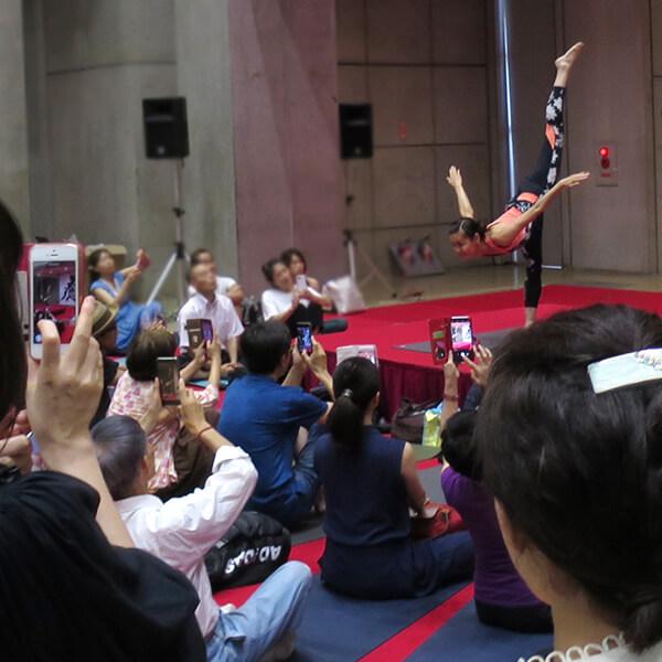 0003 - 【癒しフェア2019 in TOKYO レポート】MANDUKA アンバサダー ヨガワークショップ