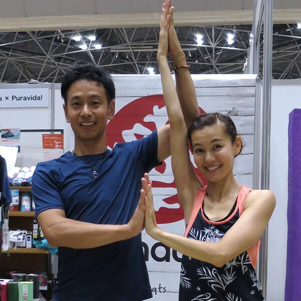 0005 - 【癒しフェア2019 in TOKYO レポート】MANDUKA アンバサダー ヨガワークショップ